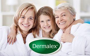 Dermalex, pour les bons soins de votre peau sèche, jour après jour!