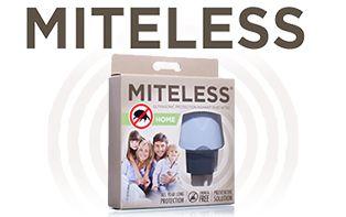 MiteLess: Ultrasone bescherming tegen huisstofmijt.
