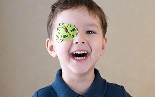 Votre enfant souffre d'amblyopie? Rapidement rectifié avec un pansement oculaire!